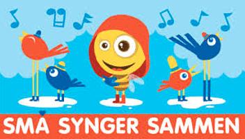 Små synger sammen