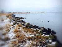 Fjorden fotograferet