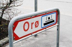 Færge Orø