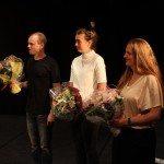 Sidste års finalister: Andreas Dawe, Alexandra Moltke Johansen og Lone Vibe Pedersen