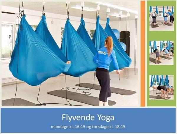 Flyvende yoga