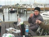 Fire søskende går ture i Holbæk