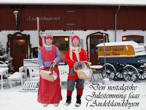 Jul i Nyvang i Andelslandsbyen