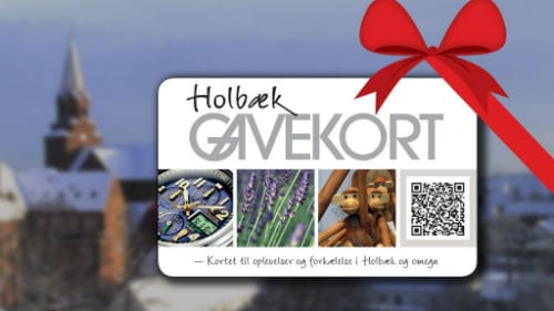 Giv Holbæk-gavekortet til en, du holder af