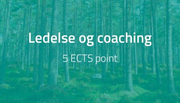 Ledelse og coaching