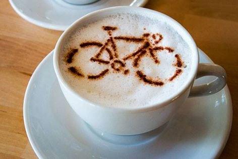 Morgenfrisk på cyklen