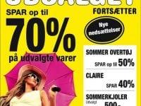 Foto: Udsalget fortsætter / Tygesen Women, Holbæk