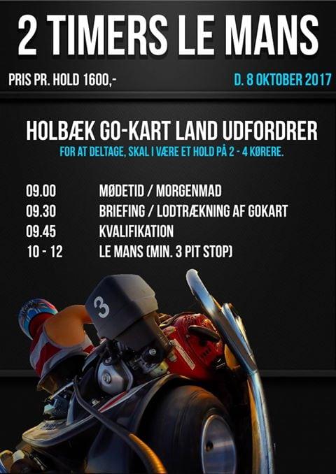 Race i Holbæk for de fartglade