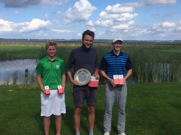 Årets klubmesterskaber i slagspil i Holbæk Golfklub afholdt