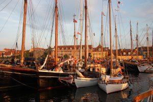 Historiske skibe flyttes til Holbæk