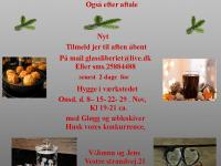 Hygge i Glassliberiet på Orø