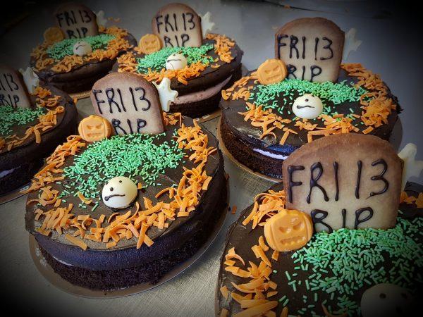 Vind en halloween-kage
