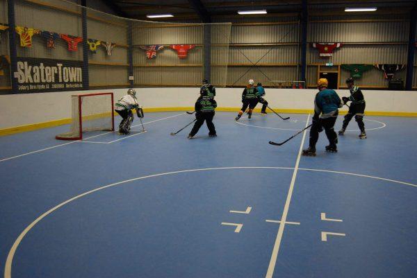 Holbæks skaterhockeyhold til DM