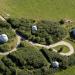 Brorfelde Observatorium set oppefra. Foto: Ole Malling