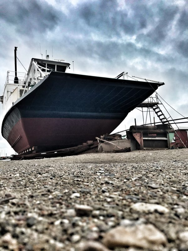 Båd på Holbæk Gl. Havn