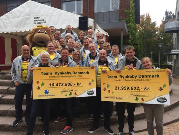 Team Rynkeby runder en kvart milliard