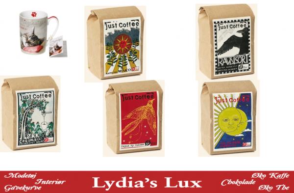 Økokaffe hos Lydias Lux