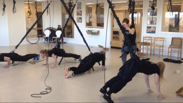 Bungee Dance hos Borg Fysioterapi
