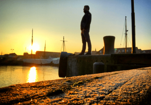 Første mand på havnen