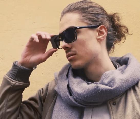 Solbriller med et klik