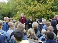 Elever åbner skov for Vipperøds borgere