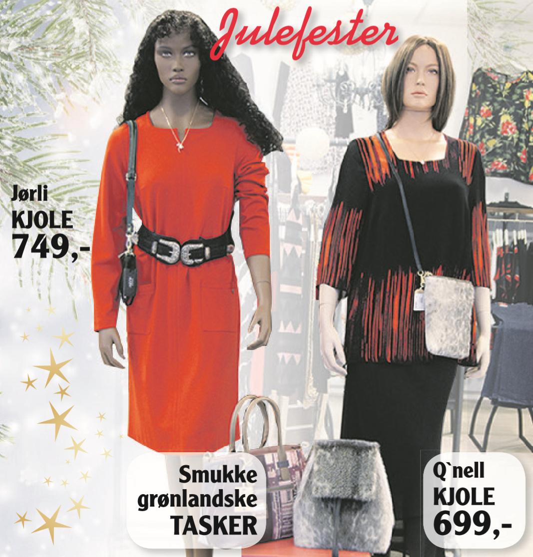 83690bf720de Der er nye decembervarer på hylderne – særligt kjoler og tilbehør. Husk hos  Lydias Lux finder du også et lækkert julesortiment af te og kaffe.