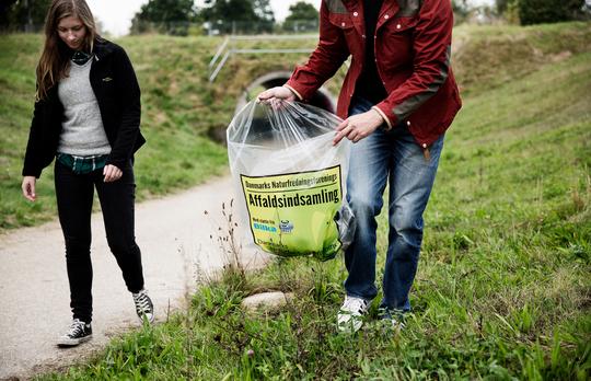 Affaldsindsamling - også i Holbæk kommune