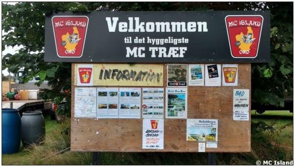 Motorcykeltræf på Orø