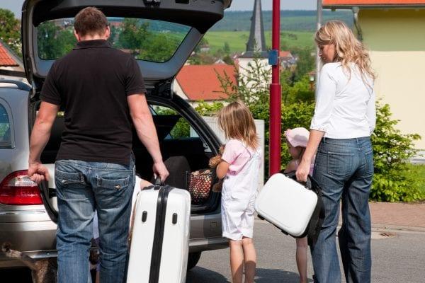 Tøm feriebilen før tyven