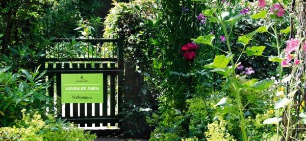 Uddeling af haveglæde i hele landet