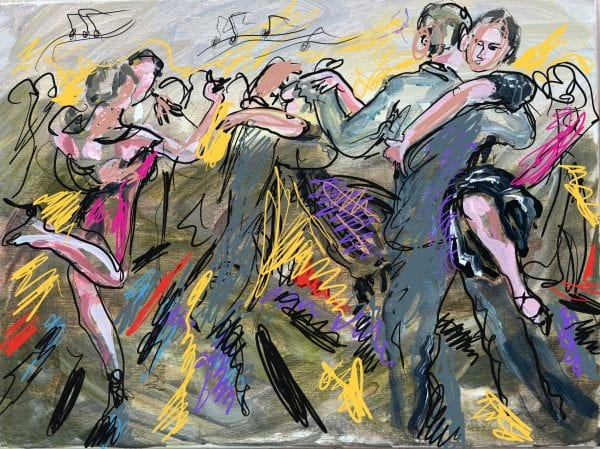 Argentinsk tangosalon