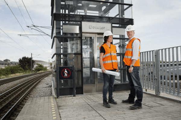 Banedanmark renoverer nu elevatorerne på Vipperød Station