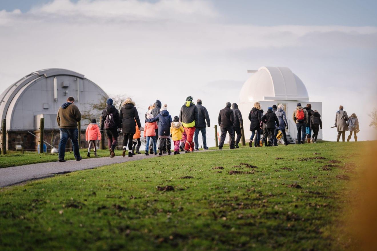 Observatoriet viser vej til vinterens stjerner