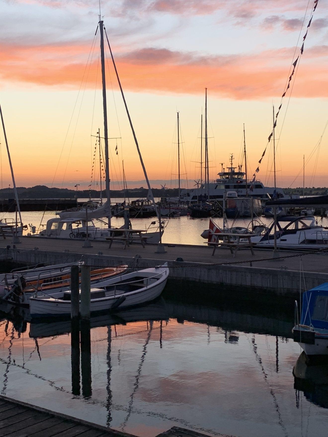 Vores smukke havn i Holbæk