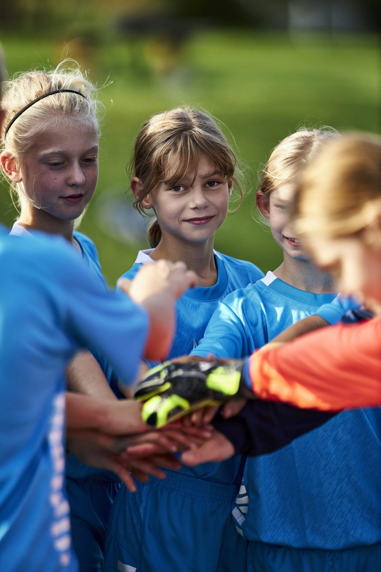 Flere børn på fodboldbanerne i Holbæk