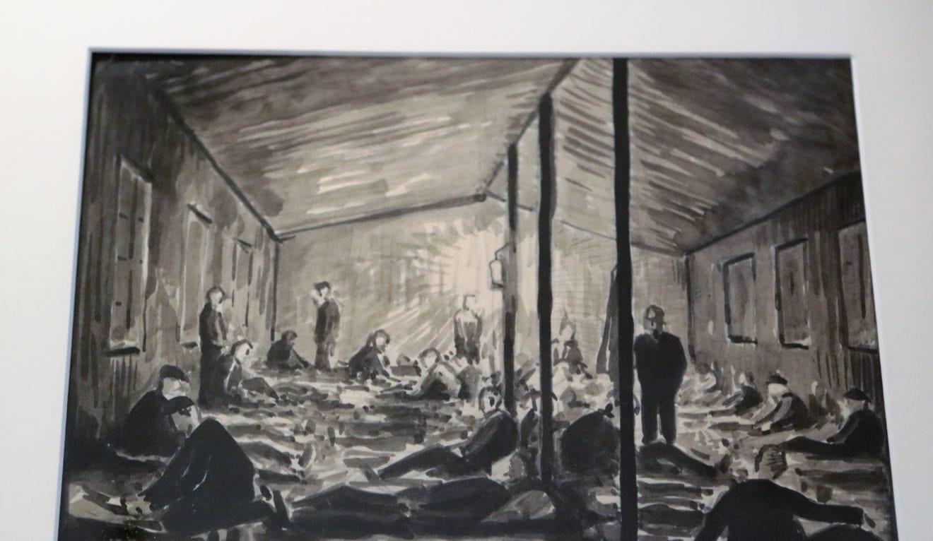 Særudstilling: Kunstner i koncentrationslejr