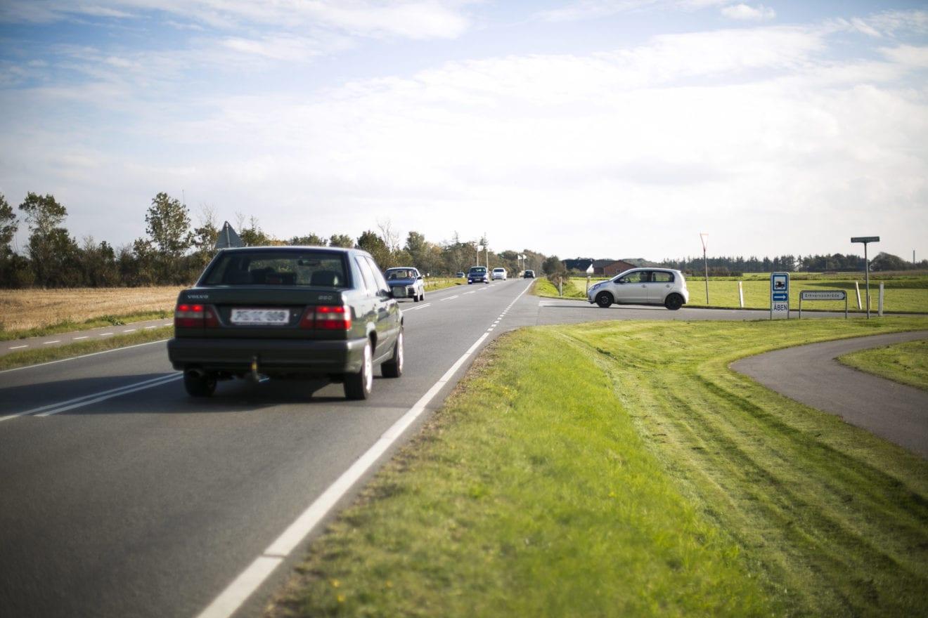 Bilister føler sig mest trygge på de farligste veje