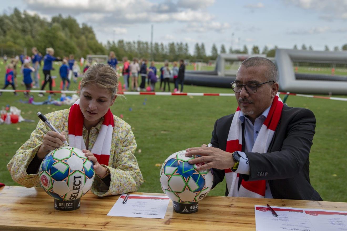Holbæk Kommune og DBU har underskrevet velfærdsalliance