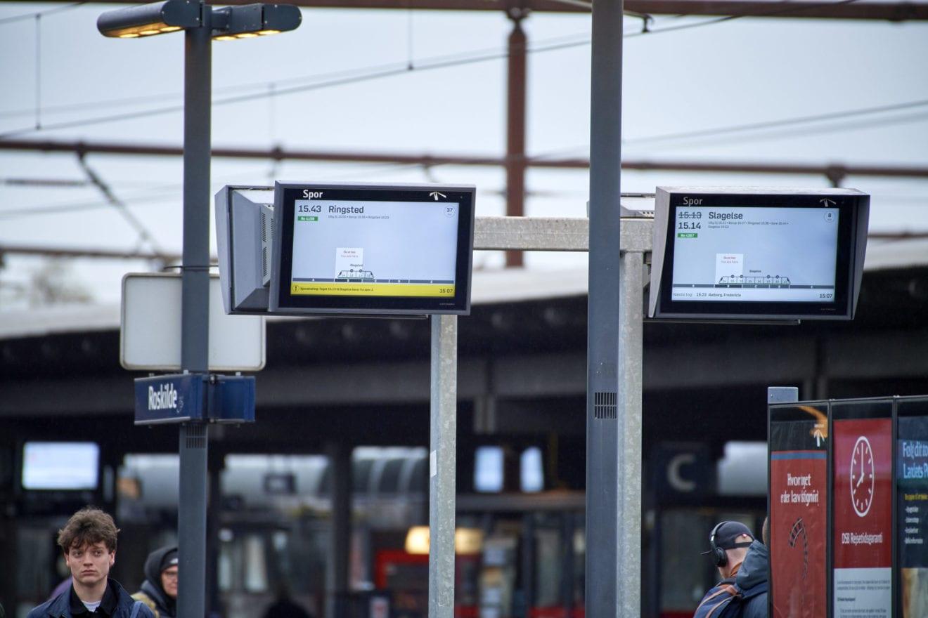 Passagerer får information med nyt skærmdesign