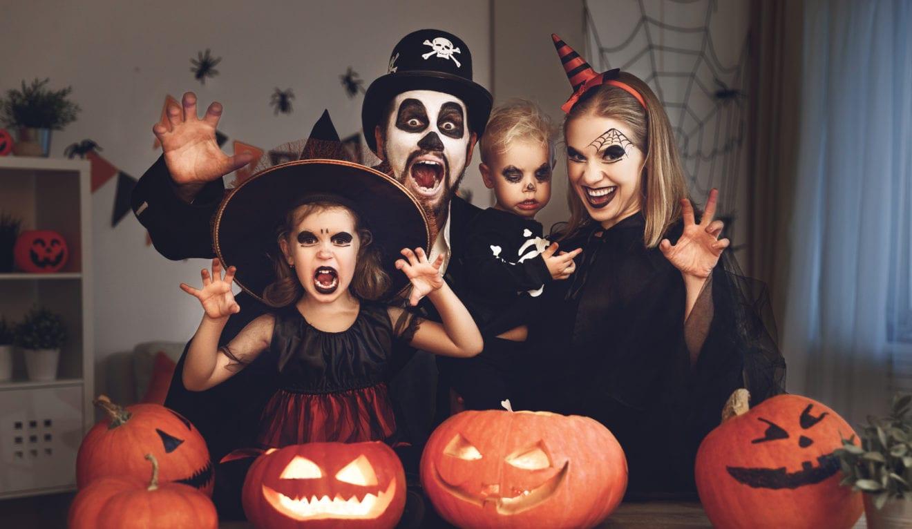 Halloween-udklædning kan skade synet
