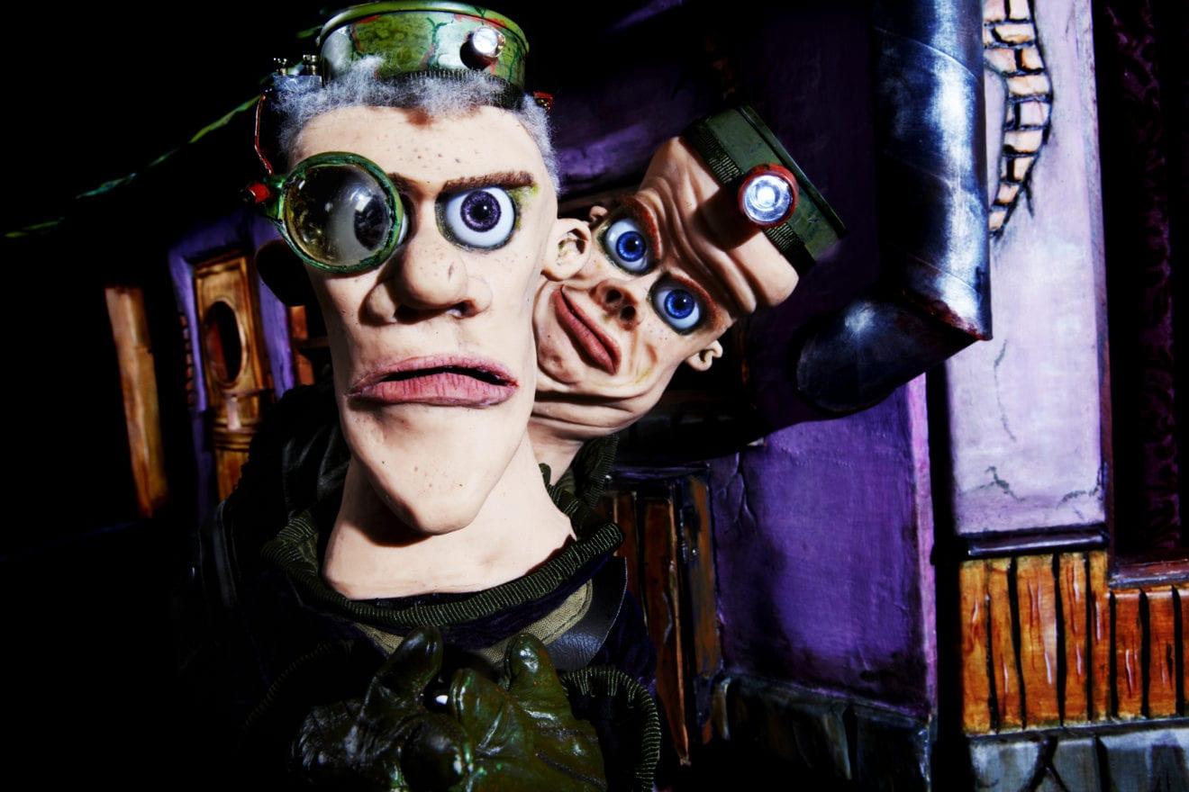 Filmisk dukketeater-gyser for teenagere og voksne
