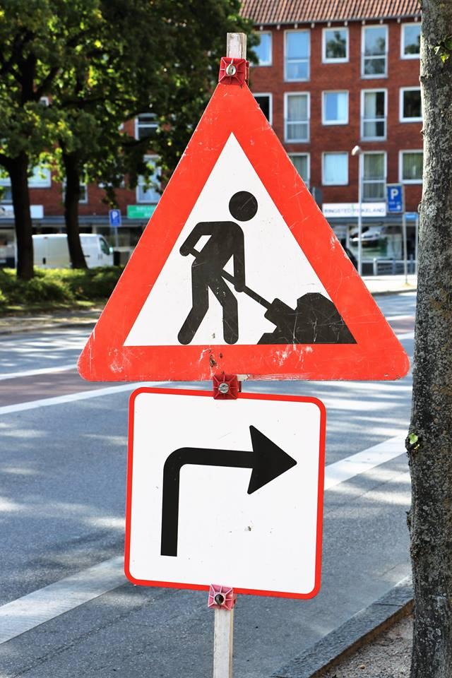 Vejarbejde på Roskildevej/Omfartsvejen
