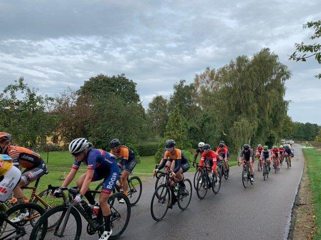 Søndagens cykelløb ved Tølløse