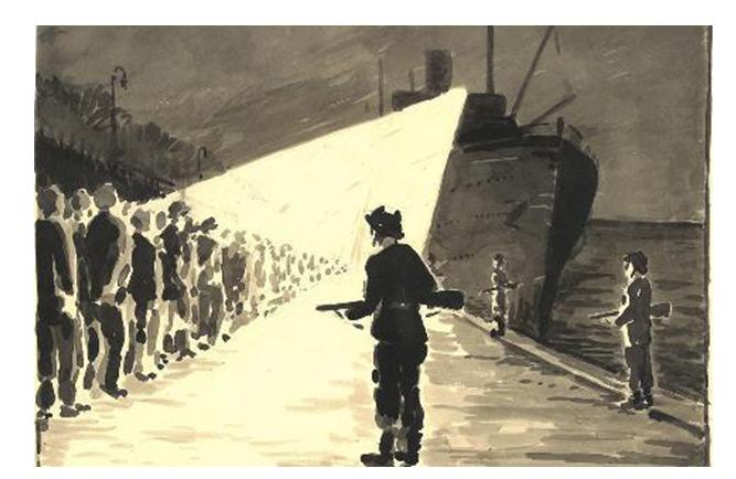 Udstilling og foredrag om politiet under 2. verdenskrig