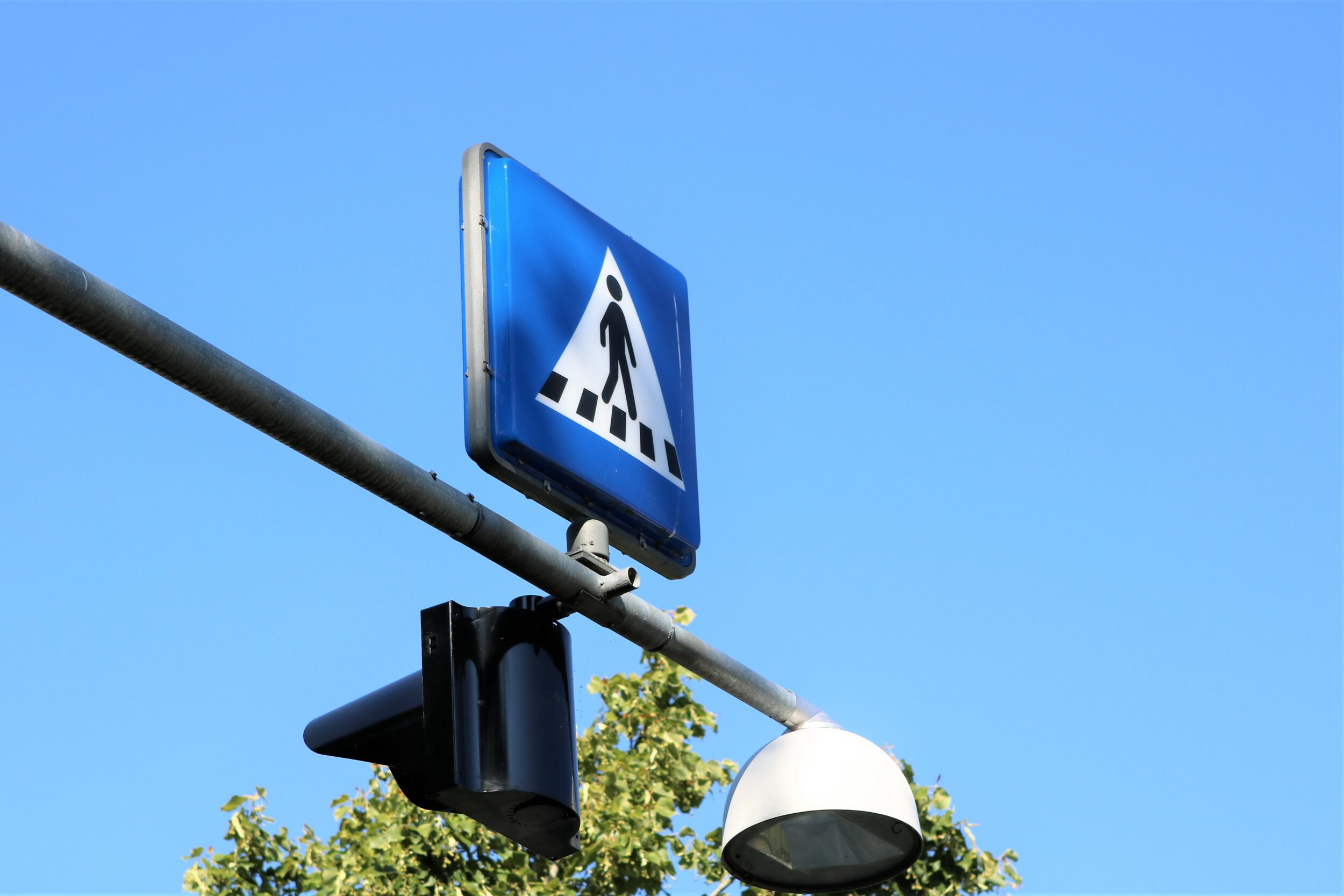 Trafiksignal ude af drift på Dampmøllevej