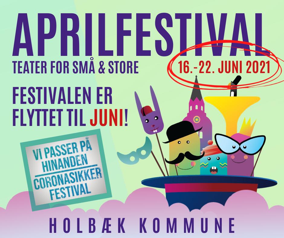 Aprilfestival bliver en juni-begivenhed