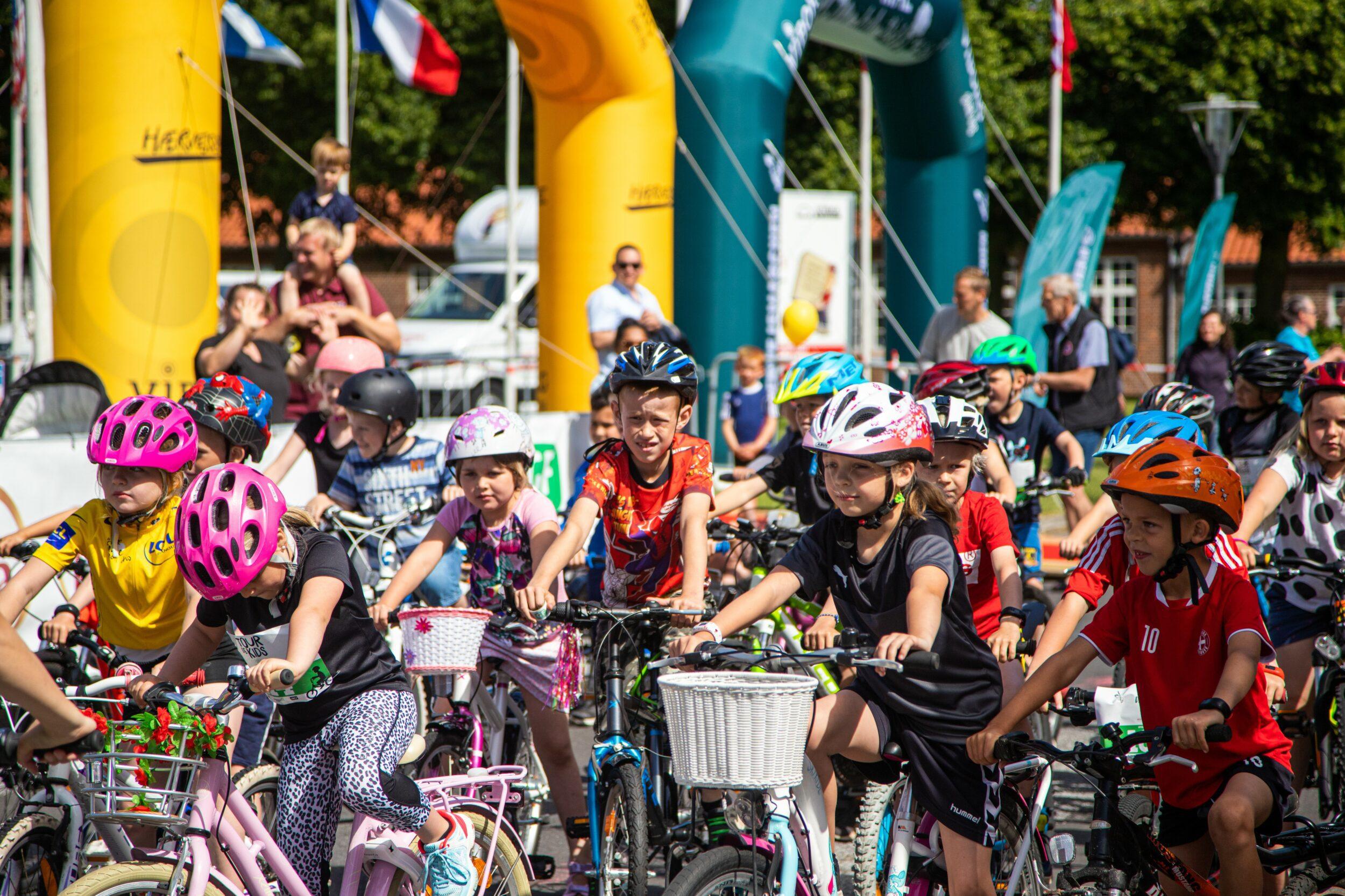Danmarks største cykelløb for børn kommer til Holbæk
