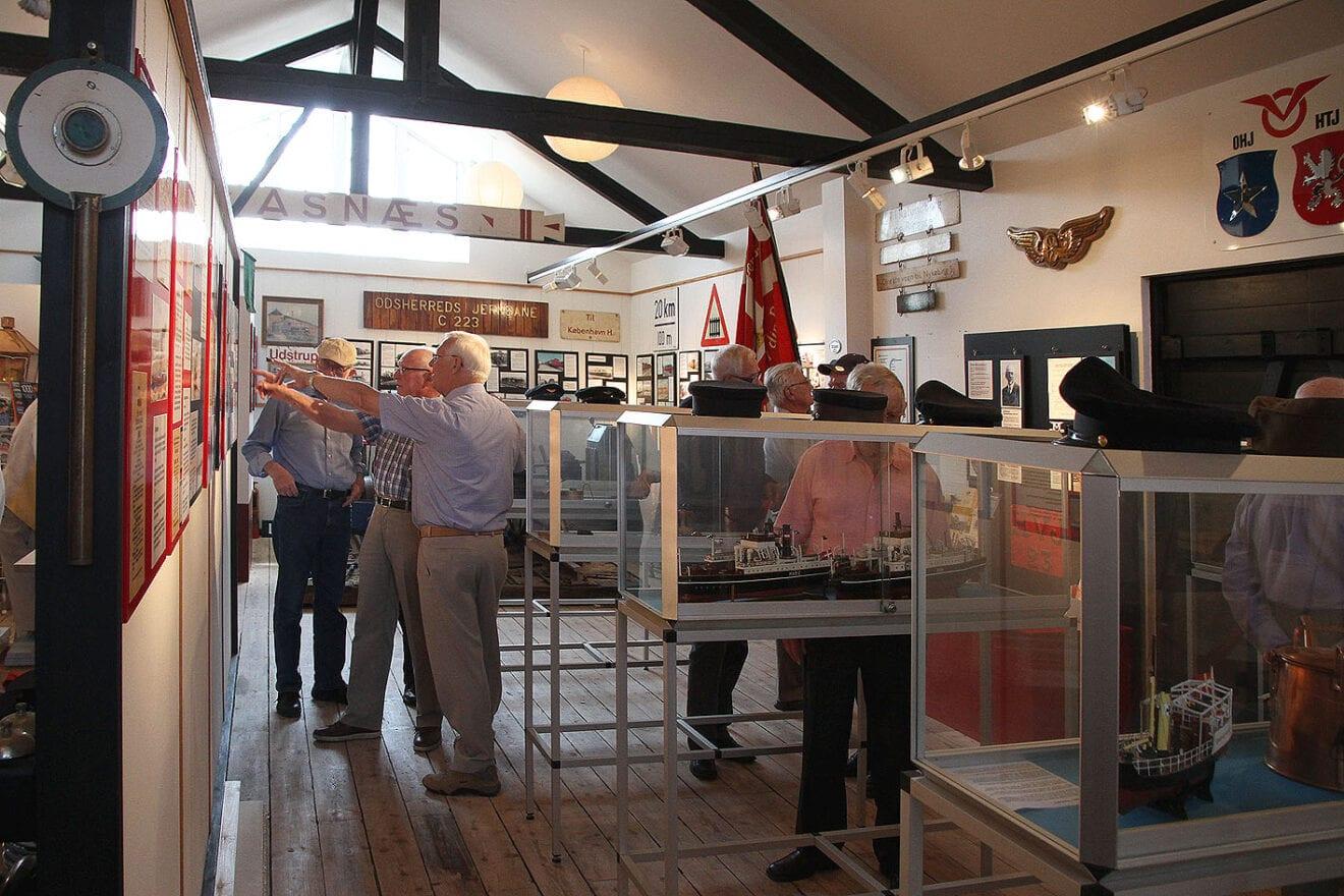Odsherreds Trafikmuseum i Hørve åbner 29. maj 2021