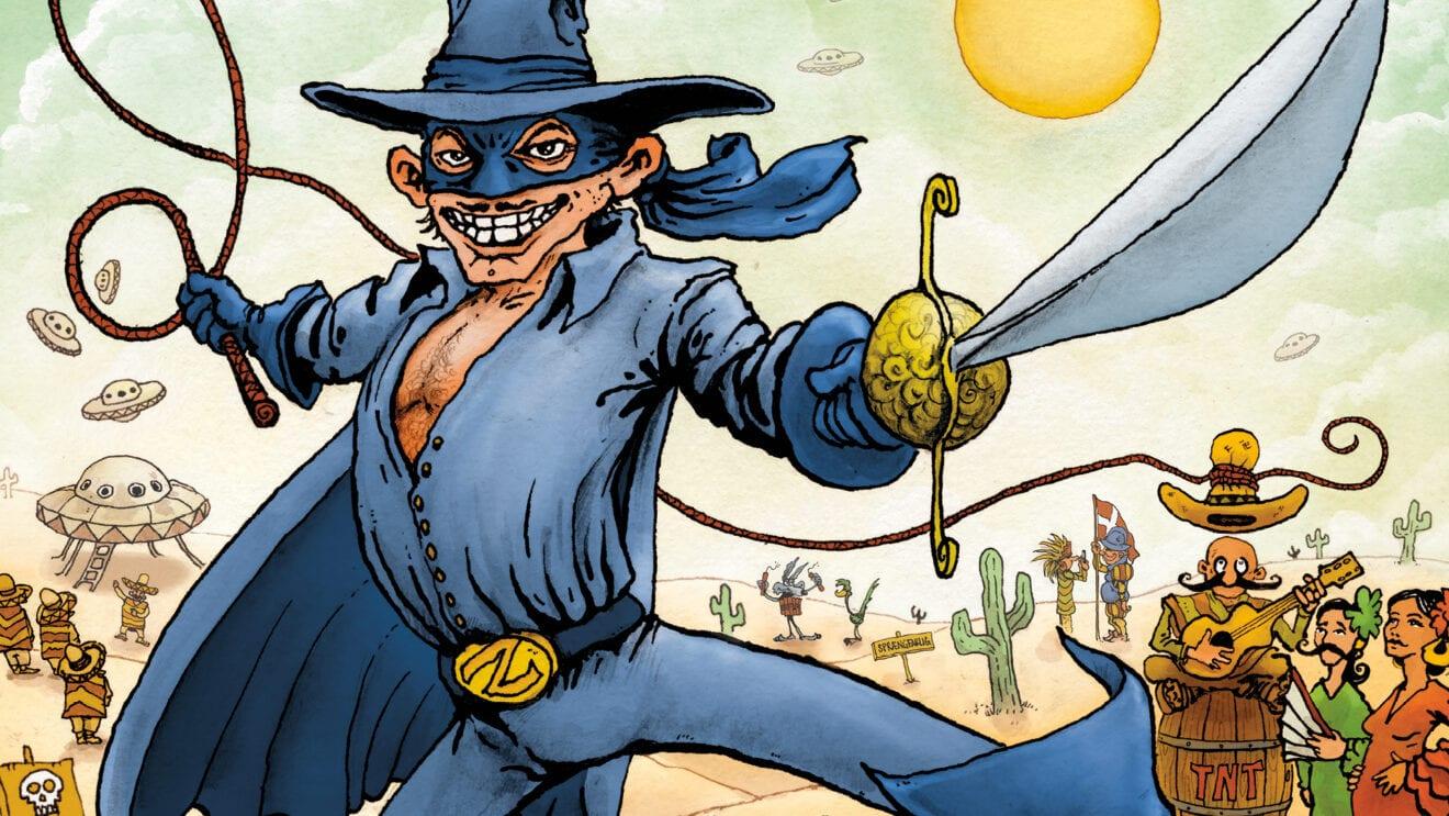 Zorro og Den Forbudte Sombrero
