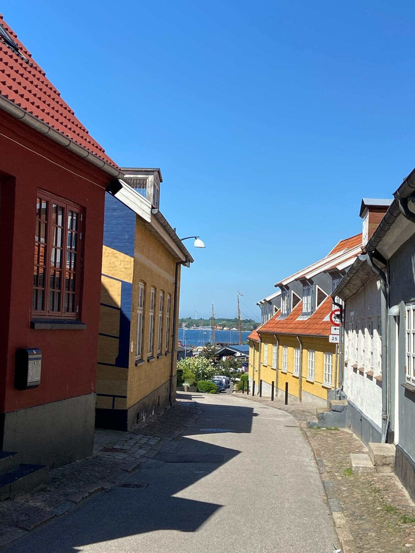 Dejlig solskinslørdag i Holbæk